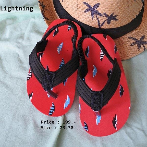 A22 รองเท้ารัดส้นเด็ก Lightning