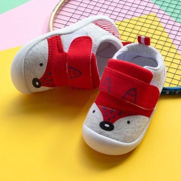 รองเท้าหัดเดินเด็ก M1 แดง