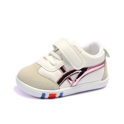 รองเท้าเด็กหัดเดินเด็ก D06 ชมพู