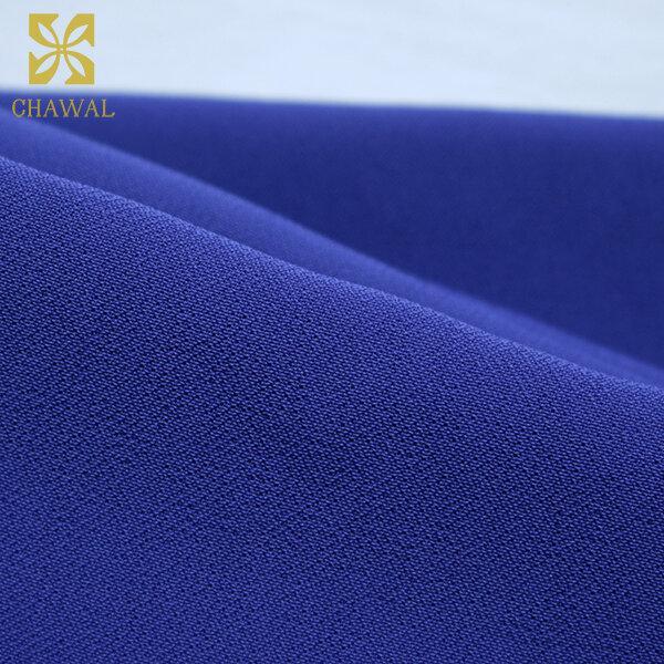 ผ้าชีฟอง สีน้ำเงิน