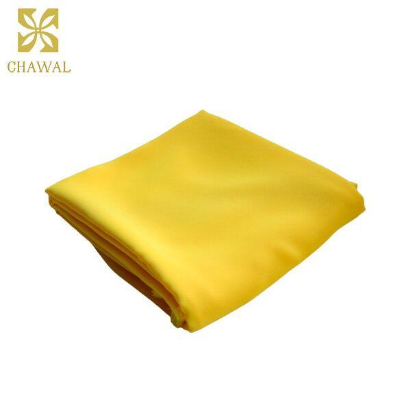 ผ้าชีฟอง สีเหลือง