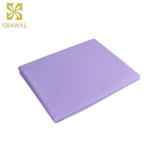 ผ้าสะท้อนน้ำ สีม่วง