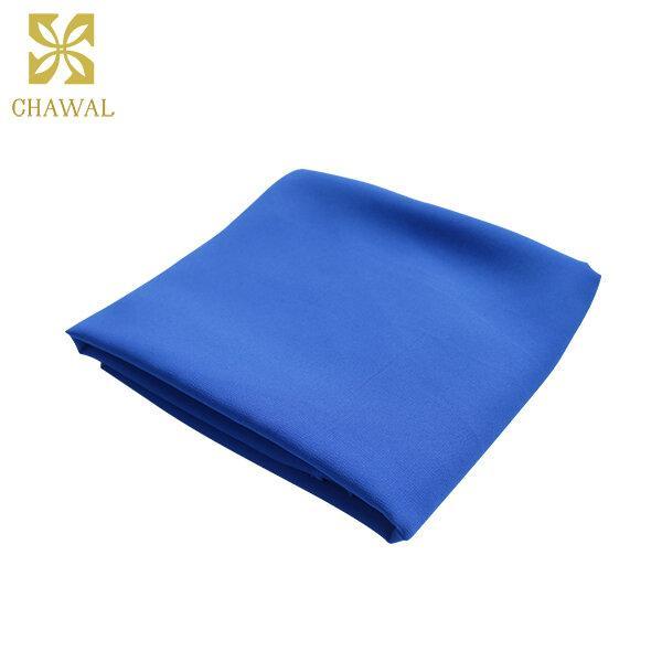 ผ้าชีฟอง สีฟ้า