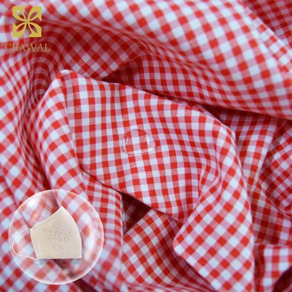 ผ้าสะท้อนน้ำ สีแดง WP3769
