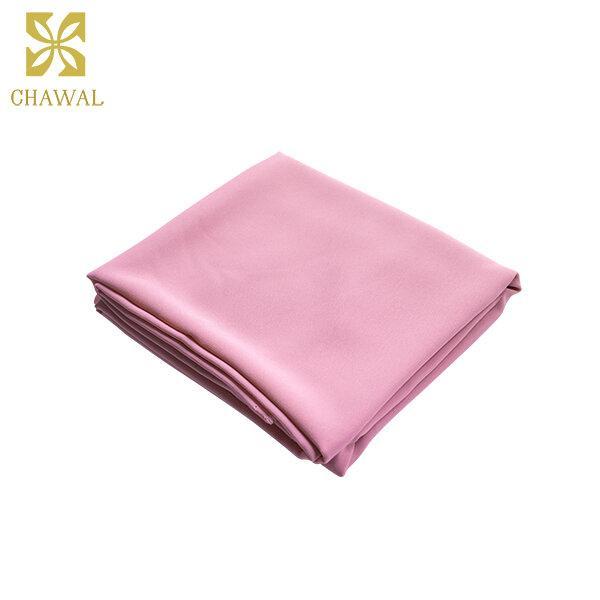 ผ้าชีฟอง สีชมพู