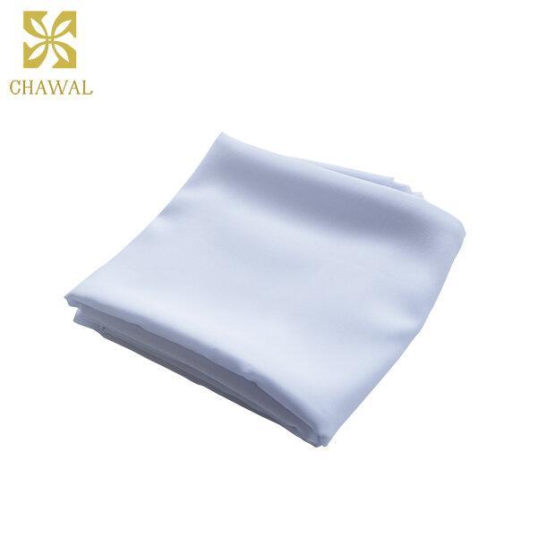 ผ้าชีฟอง สีขาว
