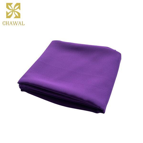 ผ้าชีฟอง สีม่วง