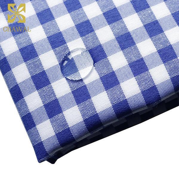 ผ้าสะท้อนน้ำ สีน้ำเงิน