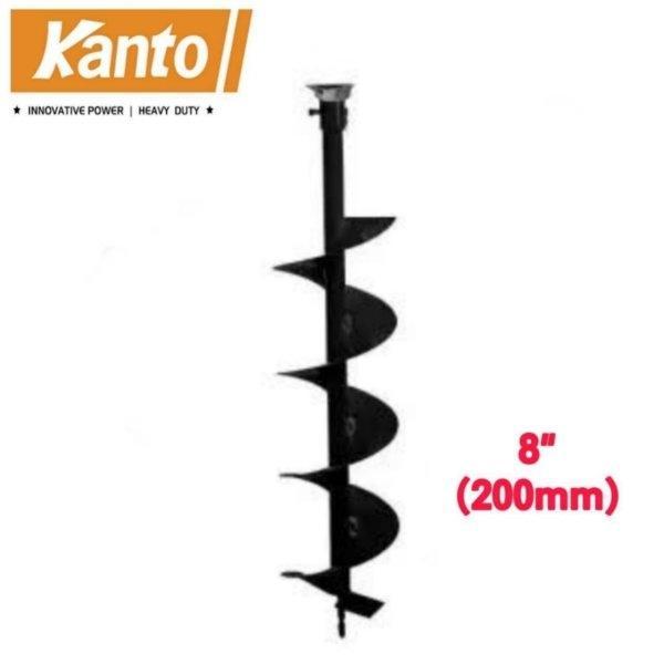 ดอกเจาะดิน KANTO ขนาด 8 นิ้ว รุ่น KT-DRILL-200