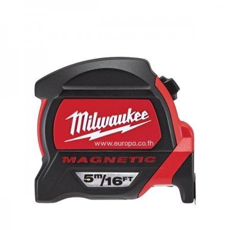ตลับเมตร Milwaukee รุ่น Premium (มีแม่เหล็ก | มีขนาด 5 และ 8 ม.)