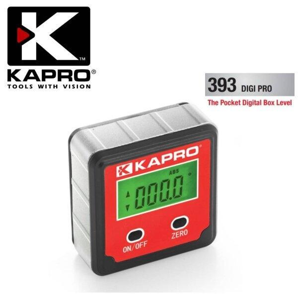 393 DIGI PRO : ระดับน้ำดิจิตอล (มีแม่เหล็ก) KAPRO (POCKET DIGITAL BEVEL)