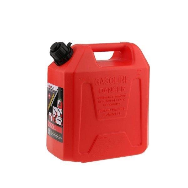 แกลลอนน้ำมันเบนซิน 10 ลิตร มีระบบ Safety Valve SEAFLO (สีแดง | ใช้สำรองน้ำมันเชื้อเพลิง)