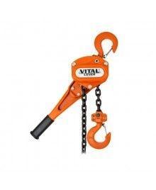 รอกมือโยก 1.60 ตัน VITAL รุ่น VR-15 (ระยะยก 1.50 ม.| โซ่ 1 ทบ)