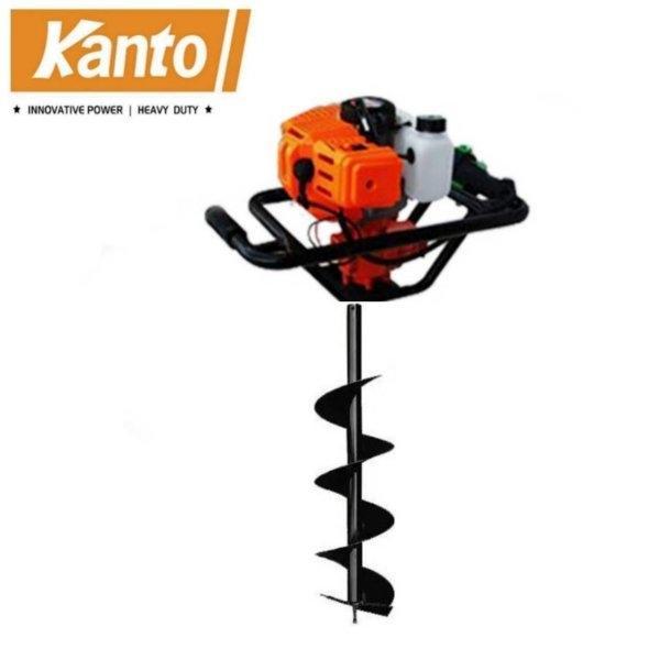 (สินค้าจัดชุด) เครื่องเจาะดิน KANTO รุ่น KT-DRILL-5800 + ดอกเจาะดิน 8 นิ้ว