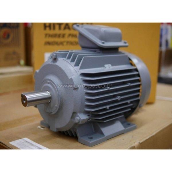 มอเตอร์ 3 เฟส 2 แรงม้า (1.5KW) HITACHI รุ่น TFO-K (380V.)