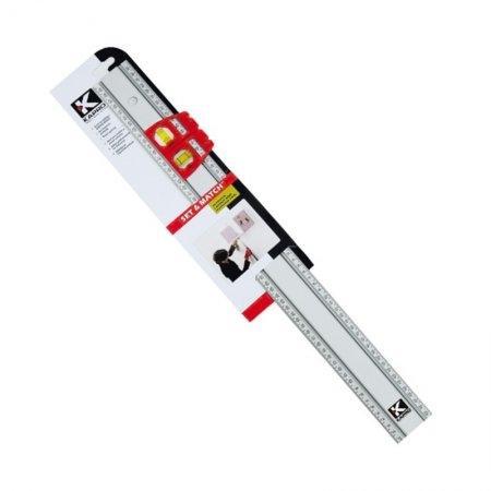 บรรทัดอลูมิเนียมวัดระดับได้ ระดับน้ำ 2 ลูก KAPRO รุ่น 314 (40 นิ้ว)