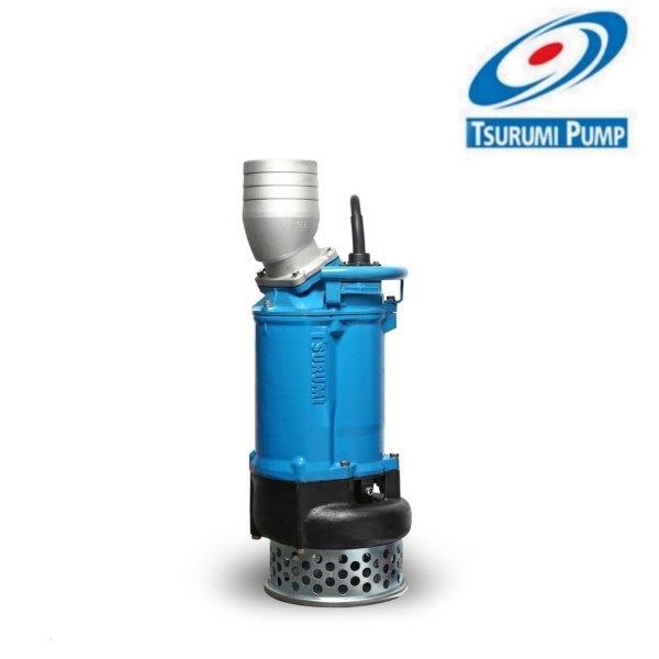 ปั๊มแช่สูบน้ำโคลน 6 นิ้ว 10 แรงม้า Tsurumi Pump รุ่น KTZ-67.5 (380V.)