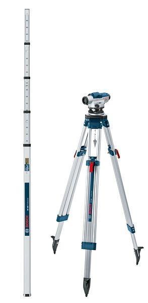 SET กล้องระดับ BOSCH รุ่น GOL32D + ขาตั้ง BT160 + ไม้สต๊าฟ GR500