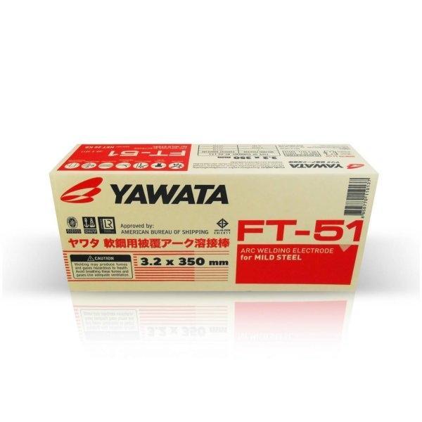 ลวดเชื่อม 4.0 มม. YAWATA รุ่น FT-51 (ราคายกลัง 20 กก.)