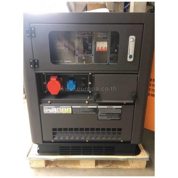 เครื่องปั่นไฟดีเซล 2 กระแส 11 KW. ROWEL รุ่น DG15LDE/T (รับประกัน 1 ปี)