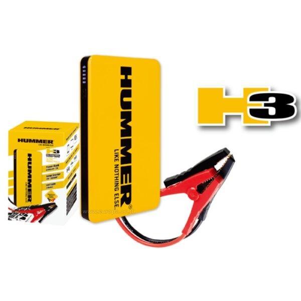 สายจั้มสตาร์ทแบบพกพา (Jump Starter+Power Bank) 6,000 Ah. HUMMER รุ่น H3