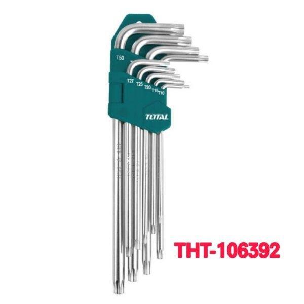 ประแจหัวทอร์ค 9 ตัว/ชุด TOTAL รุ่น THT-106392