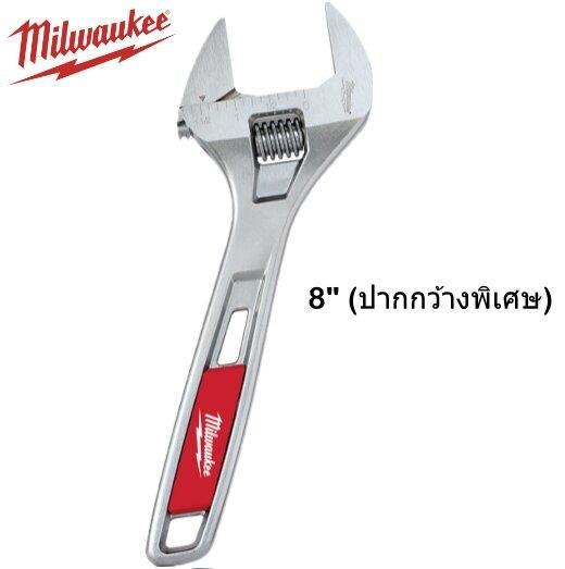ประแจเลื่อน 8 นิ้ว Milwaukee รุ่น 48-22-7508 (ปากกว้างพิเศษ)