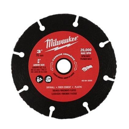 ใบตัดคาร์ไบด์ 3 นิ้ว Milwaukee รุ่น 49-94-3005 (1ใบ/แพค | ใช้กับM12 FCOT)