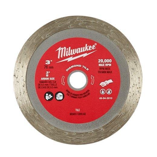 ใบเพชร 3 นิ้ว Milwaukee รุ่น 49-94-3010 (1ใบ/แพค | ใช้กับ M12 FCOT)