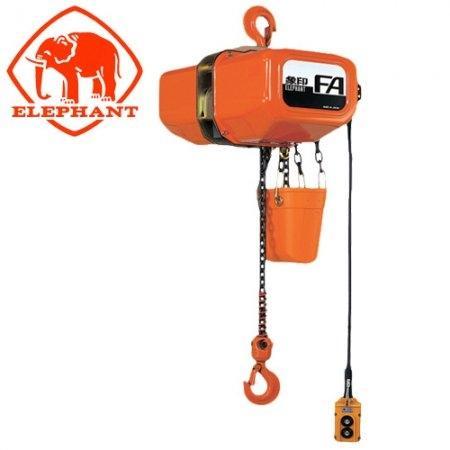 รอกโซ่ไฟฟ้า 0.5 ตัน ตราช้าง ELEPHANT รุ่น FAH-0.5