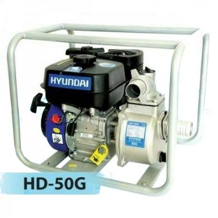 ปั๊มน้ำเครื่องยนต์เบนซิน 2 นิ้ว Hyundai รุ่น HD-50GS