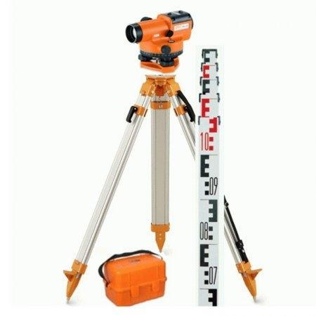 SET กล้องวัดระดับ GEO FENNEL รุ่น FAL 32 + ขาตั้ง FS20 + ไม้สต๊าฟ TN15-0 ยาว 5 เมตร