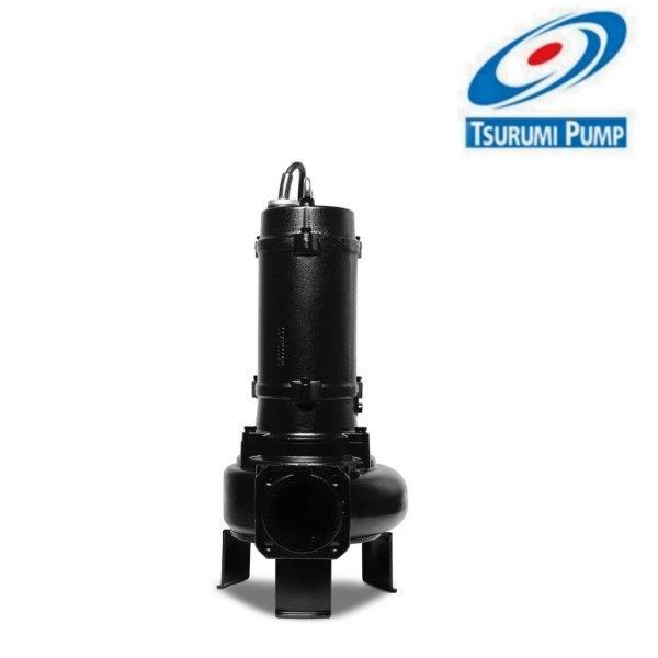 ปั๊มจุ่มสำหรับบ่อบำบัดน้ำเสีย 4 นิ้ว 5 แรงม้า TSURUMI PUMP รุ่น 100C43.7 (380V.)
