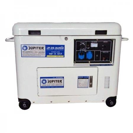 เครื่องปั่นไฟเครื่องยนต์ดีเซล 5.5 KW. JUPITER รุ่น JP-D5-SUPER