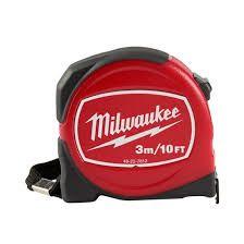 ตลับเมตร Milwaukee รุ่น Short (Trademan Red Tape | มีขนาด 3, 5 และ 8 ม.))
