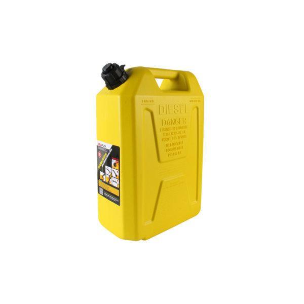แกลลอนน้ำมันดีเซล 5 ลิตร มีระบบ Safety Valve SEAFLO (สีเหลือง | ใช้สำรองน้ำมันเชื้อเพลิง)