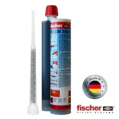 อีพ๊อกซี่เสียบเหล็ก FISCHER รุ่น EM 390S (390 ml. | แถม 1 หัวฉีด)