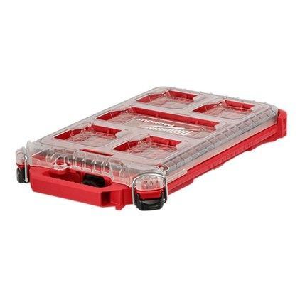 กล่องเครื่องมือช่าง(PACKOUT) Milwaukee รุ่น Low Profile Compact Organizer (48-22-8436)