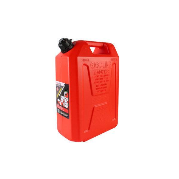 แกลลอนน้ำมันเบนซิน 5 ลิตร มีระบบ Safety Valve SEAFLO (สีแดง   ใช้สำรองน้ำมันเชื้อเพลิง)