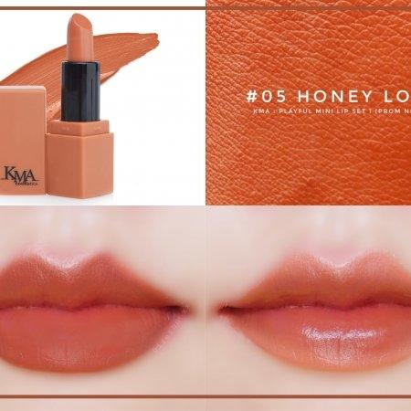 KMA Playful Mini Lip Set #Prom Night ฟรี!!! PEACH MELLOW TONE UP 3ml.