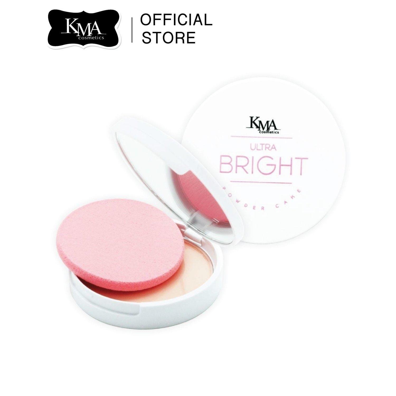 KMA Ultra Bright SPF25 PA++ แป้งผสมรองพื้น กันน้ำ กันเหงื่อ คุมความมันบนใบหน้า พร้อมการบำรุงผิวขั้นสุด