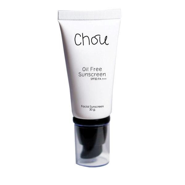 ครีมกันแดด Chou oil free sunscreen spf50 pa+++(Mineral protection)