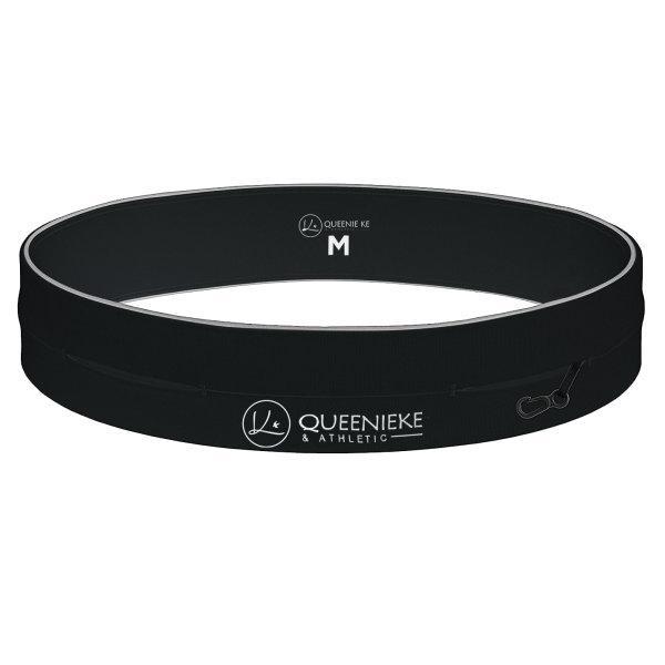 Queenieke : กระเป๋าคาดเอว Running Belt (สี Black)