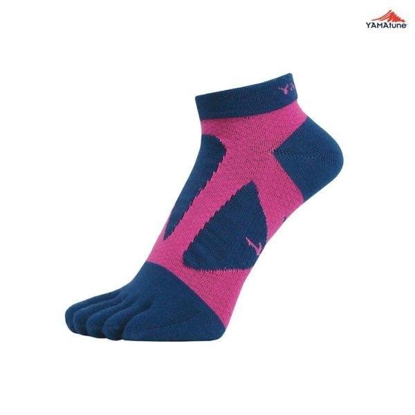 Yamatune : Spider Arch 5Toe Short (Indigo x Pink)