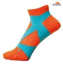 Yamatune : Spider Arch Support Socks (ไม่แยกนิ้ว) - orange