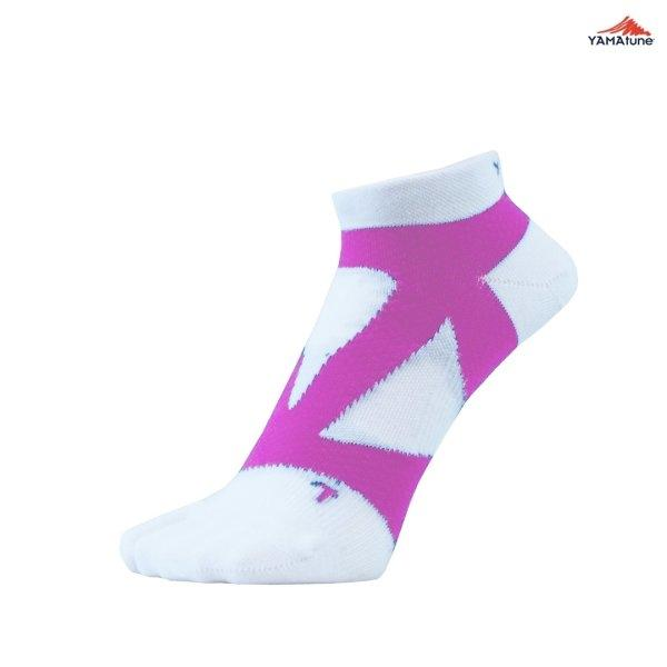 Yamatune : Spider Arch Support Socks (ไม่แยกนิ้ว) - white