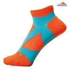 Yamatune : Spider Arch Support Socks (ไม่แยกนิ้ว) - orange