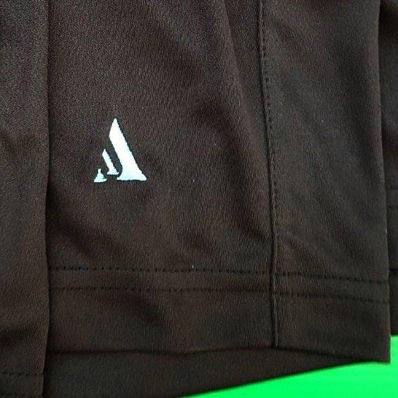 กางเกงกีฬา Spirit สีดำ โลโก้-(ฟ้า)