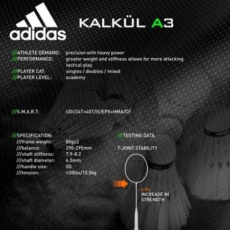 ไม้แบด adidas KALKUL A3 Legend Ink (RK812501)
