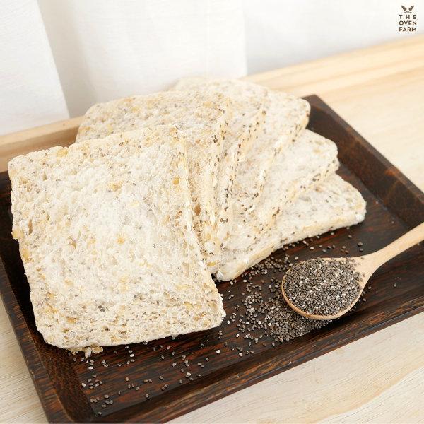 ขนมปังโฮลวีทเมล็ดเชีย